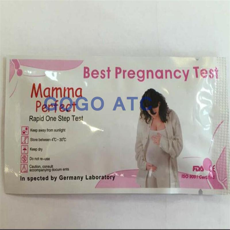 מעולה HCG מכשיר בדיקת הריון/מחיר סיטונאי HCG רצועת בדיקה מהירה-ציוד PY-22