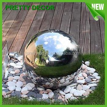 Gentil Stainless Steel Garden Decoration Ball Sphere