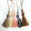 acrylic beaded fringe curtain tassel