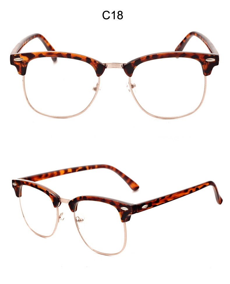 Brand Men Frame Fashion Glasses with Clear Lenses Man Johnny Depp Nerd Optical Women Computer Eye Glasses Frames for Men CC5072