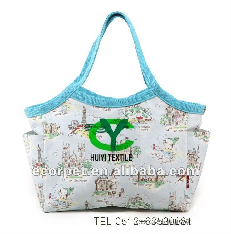 Printing shopping bag fabric