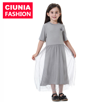TH606#New design arrival muslim kids abaya for girl malaysia islamic clothing kaftan 2019