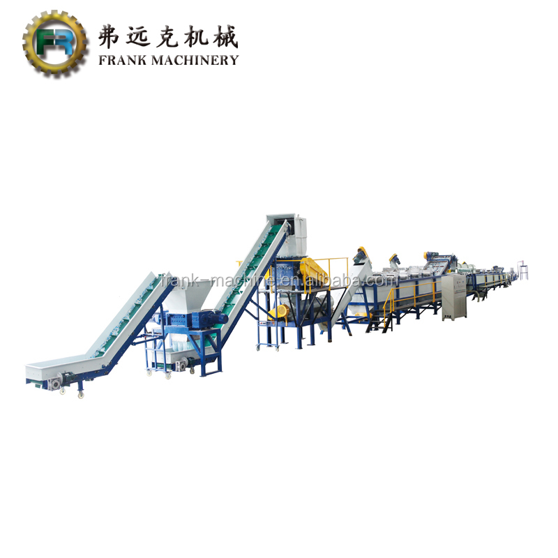 used hdpe ldpe recycling machine/pp pe bottle washing line
