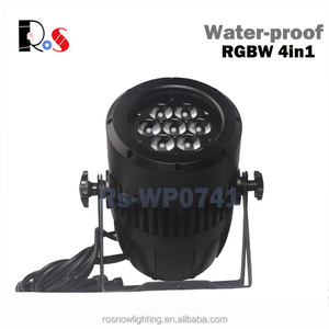 Outdoor Wedding equipment supply 7x10w RGBW 4in1 ZOOM IP65 waterproof led min par light for stage performance effect