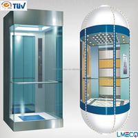 Observation elevator/ sightseeing lift China supplier