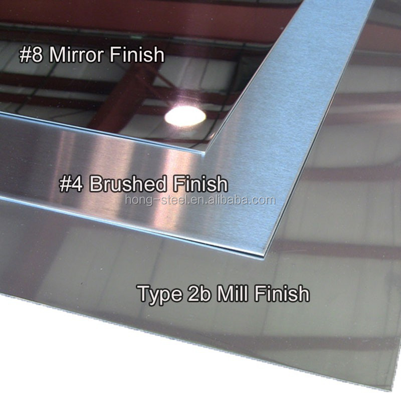 Stainless Steel Sheet Aisi304 Grade No 4 Finish With Pvc