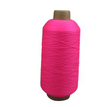 Dyed Polyester filament textured Yarn 150D 300D For Producing Webbing