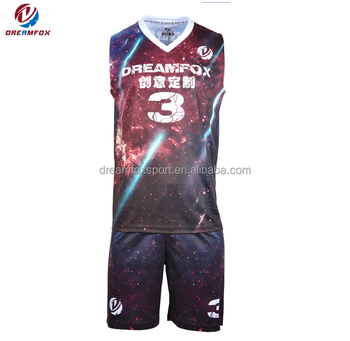814dd47dd572 cheap youth reversible mesh basketball jersey uniform design basketball  jersey and short