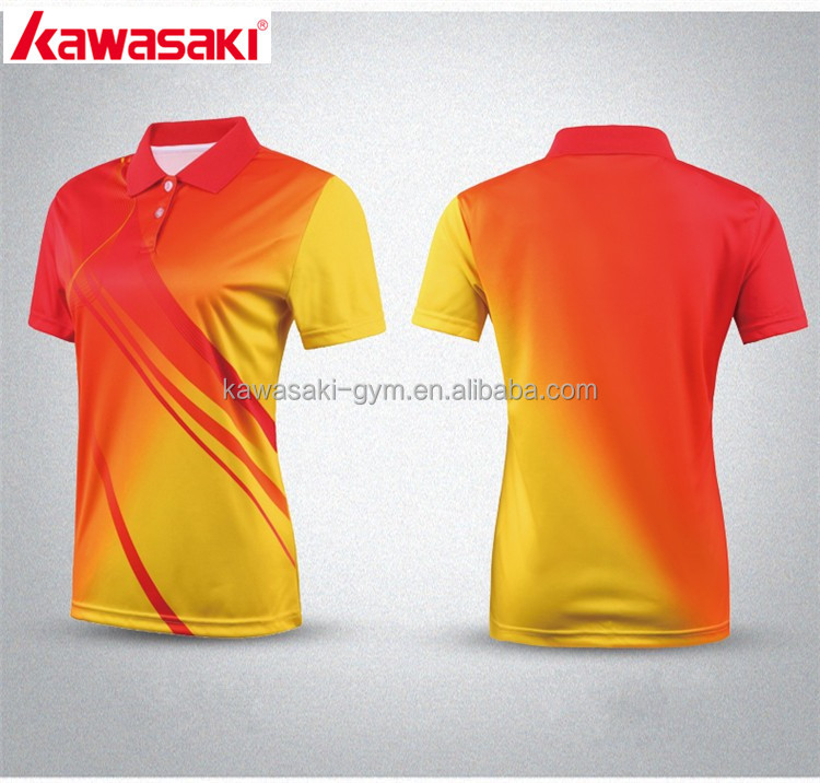 more photos 2504e 98cd5 Kawasaki Supply Professional Design Sublimation Personal Logo Tennis Jersey  Wear - Buy Tennis Jersey Wear Product on Alibaba.com