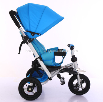 77ac537ac66 Hot Selling 4 In 1 Rubber Wheel Laying Baby Tricycle For 1-5 Year ...
