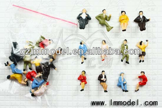 HO G O Z N OO scale architectural figure / figurines/ passengers / people supplier