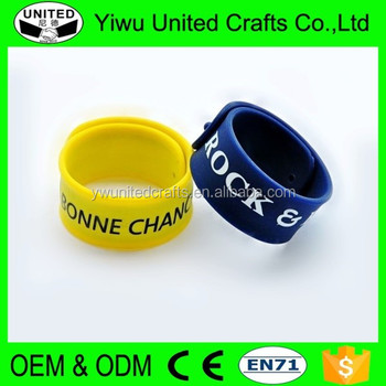 Silicone Lovers Bracelet Custom Silicone Bracelets No Minimum Cheap