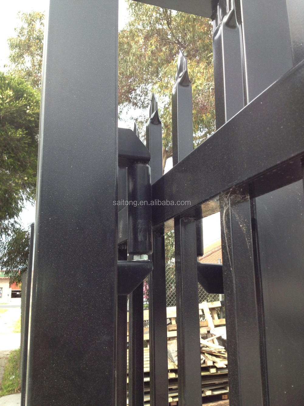 White Or Black Steel Core Sliding Gate Nylon Rollers Buy