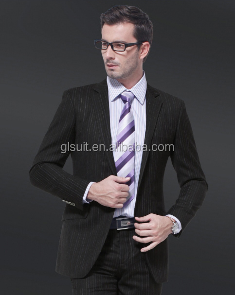 High quality men's colour combination suits 100% wool one button notch lapel tailor by hand