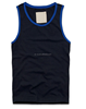 Mens basic fitted t shirt quick dry vest gym tank top gym wear