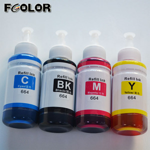 T6641 T6644 100% Compatible Dye ink for Epson L360 L350 L380 Inkjet Printer Ink