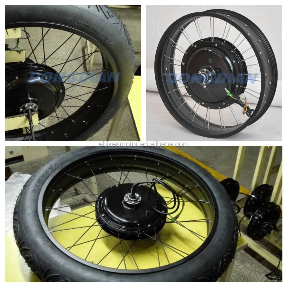 100km H Electric Bicycle Conversion Kits 3000w Fast Speed