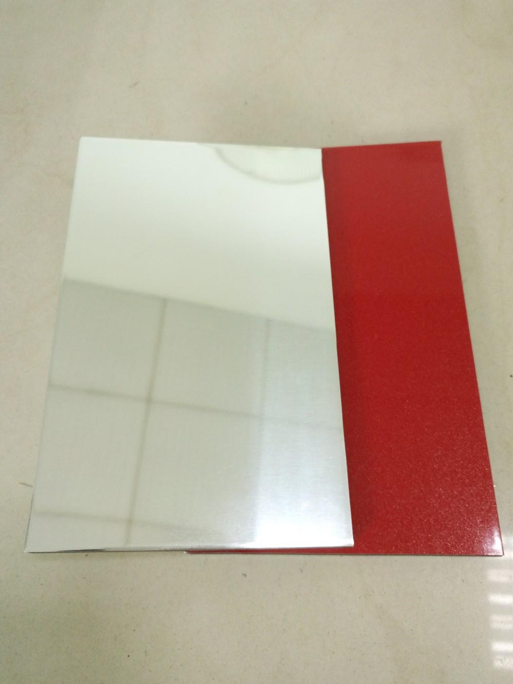 Moderne küche design aluminium kunststoff wandverkleidung blätter panels