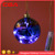 Beautiful personalized handicrafts glass  led light Christmas ornaments ball