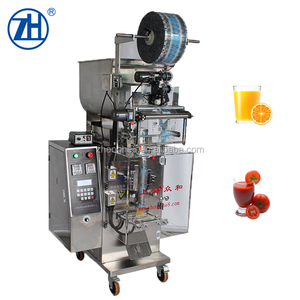 Automatic Vertical Fruit Juice Liquid Sachet Packaging Machine