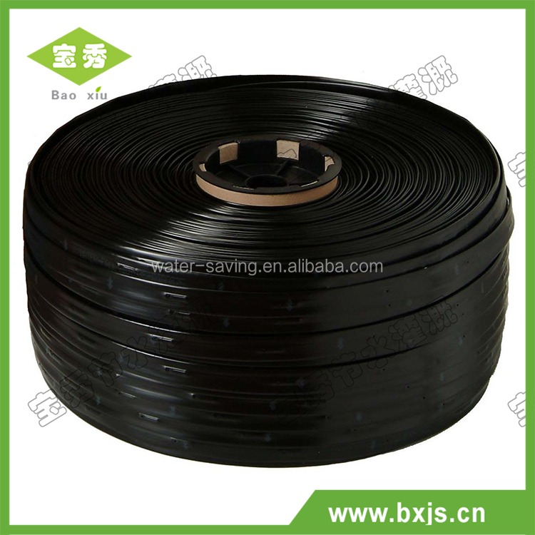 Durable inexpensive drip irrigation system lay flat emitter drip tape made in China