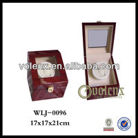 Diplomat Black Wood Automatic Watch Winder Cheap Watch Gift Box Shenzhen(BV&SGS)