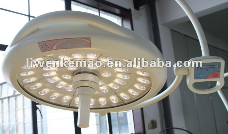 LW500 led lámpara de quirófano/ot quirúrgica led light/led de curado dental light