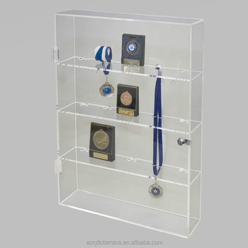 Acrylic Medal Display Cabinet