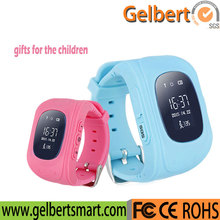 2016 best selling kids gps watch phone with remote monitoring