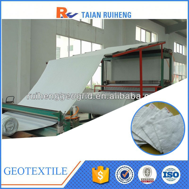 China Factory permeable durable geotextile fabric price