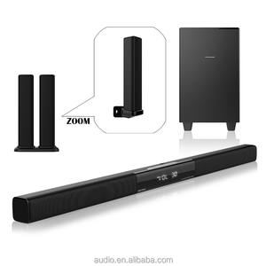 J.SUN Manufacture Supply Super Bass Hifi Modern Home Sound Bar for Home Theater with Remote Control