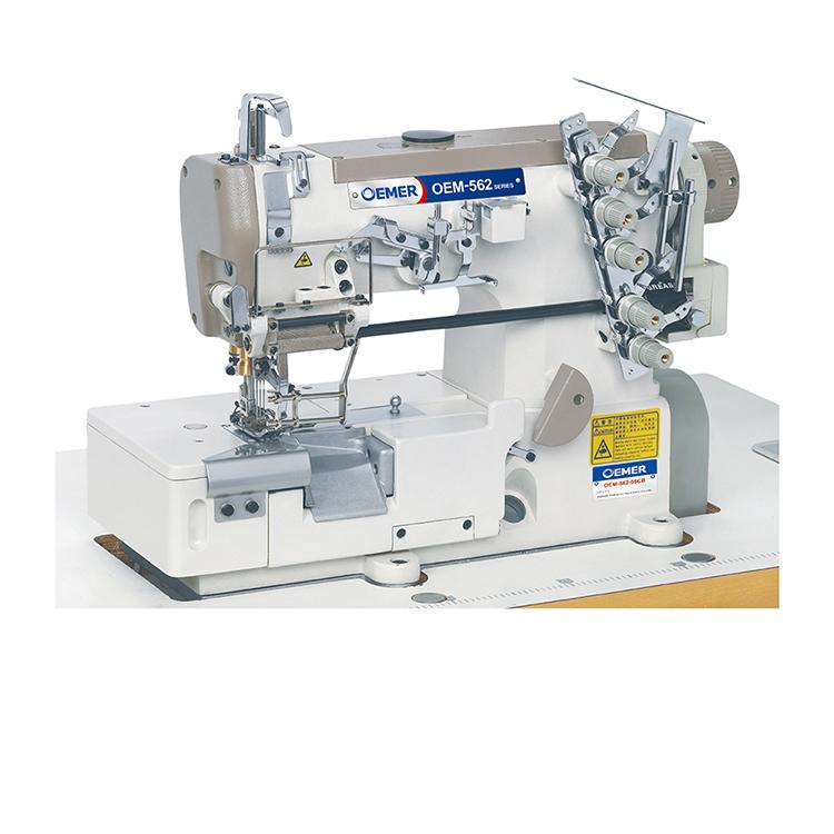40 Needle Flat Elasticator Underpants Gemsy Industrial Sewing Machine Gorgeous 4 Needle Elastic Sewing Machine