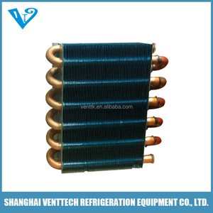 air cooler evaporator plate for chiller with tube fin