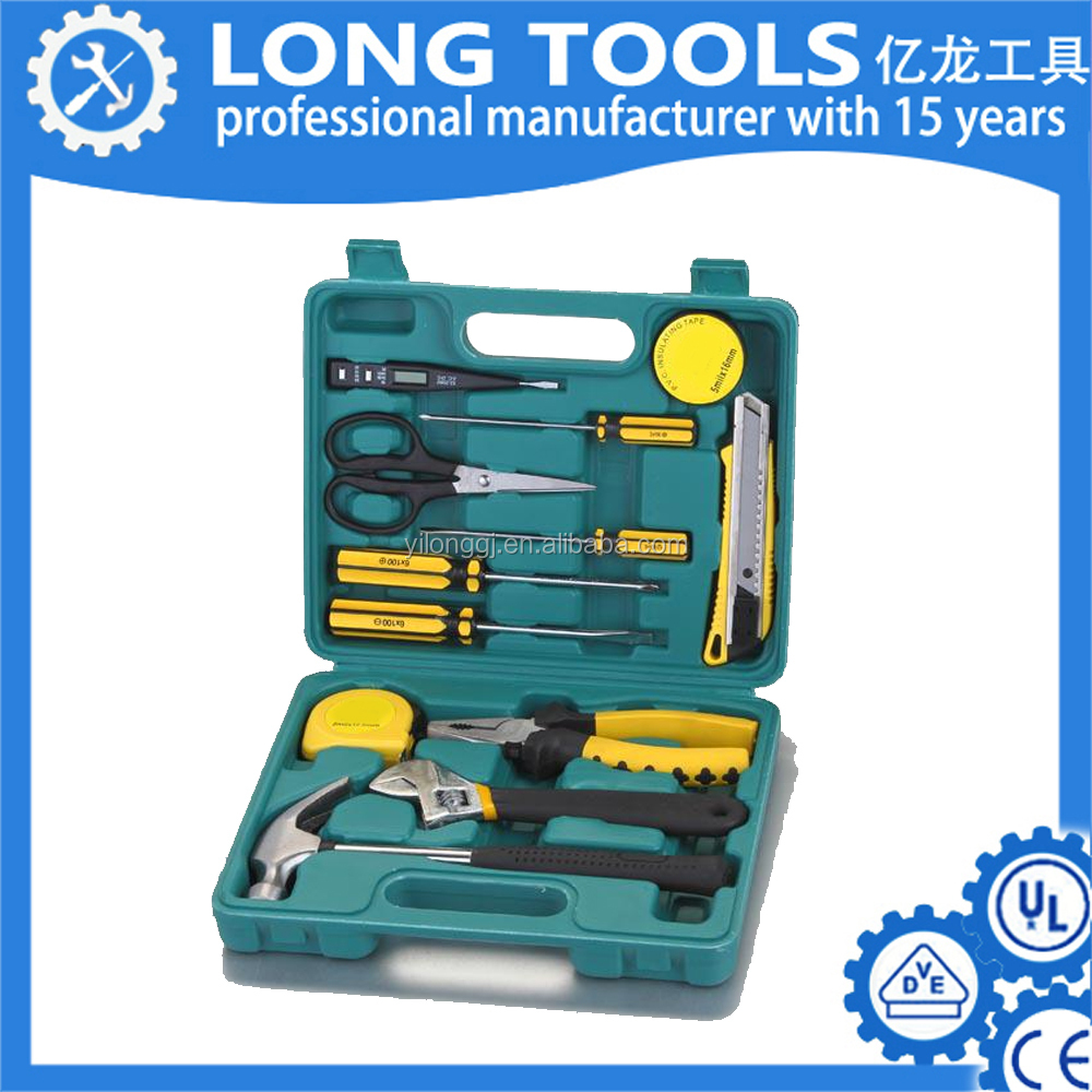 Complete tool household design hand mini metal cartridge bicycle tool set