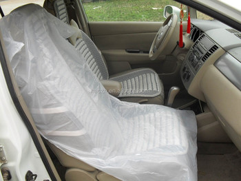 Clear Plastic Car Seat Covers Printed