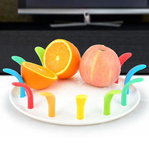 Positive Negative Surfaces Available Colorful Promotional Gifts Fruit Plate