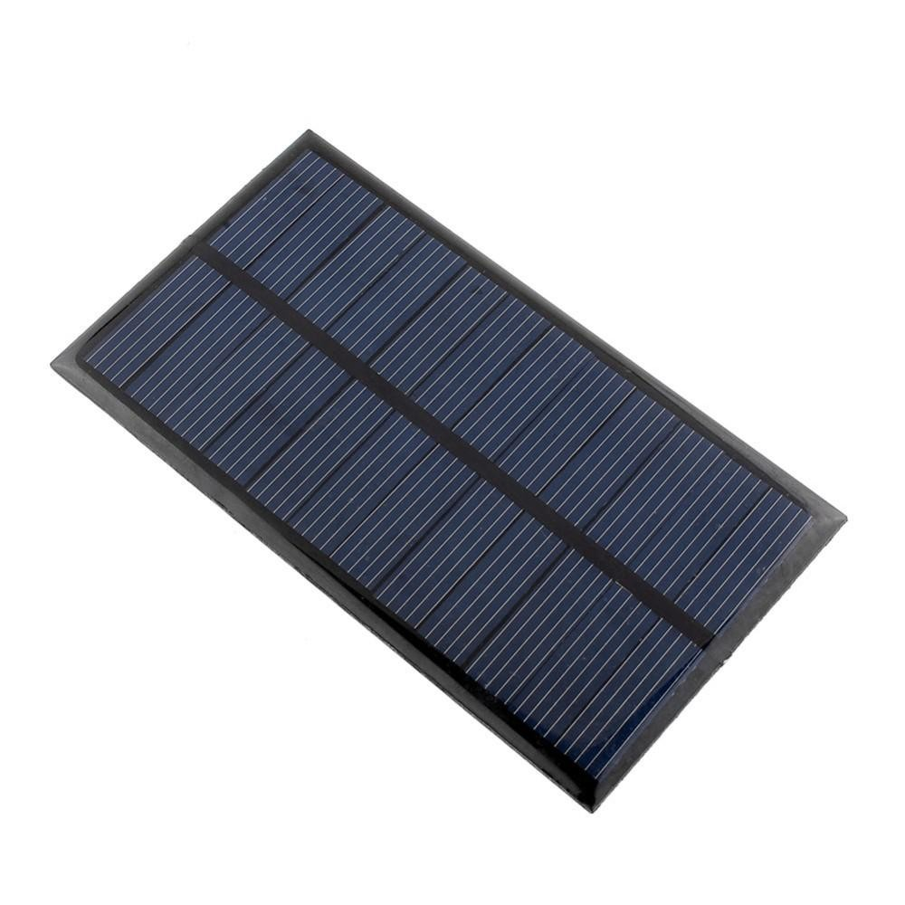 Electronic Components & Supplies Alert Mini 6v 1w Solar Panel Bank Solar Power Panel Module Diy Power For Light Battery Cell Phone Toy Chargers Portable Active Components