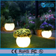 waterproof outdoor/indoor illuminated led light planter flower garden pots