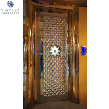 Soundproof Metal Door Design Security Stainless Steel Door for KTV
