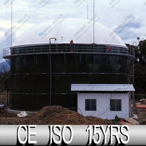 Ce Certificated Biogas Machinery, Gas Holder Tank For Customizing