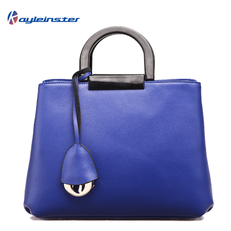 2015 Famous Brand 100% Guaranteed Genuine Leather Women Handbag Hard Handle Saffiano Bag Classic Fashion Shoulder Top-handle bag