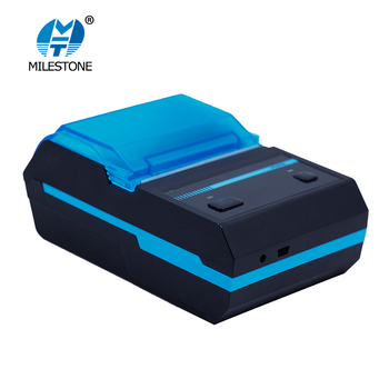 Milestone portable 58mm thermal receipt printer mini wireless bluetooth pos receipt printer used for fast food MHT-P5801