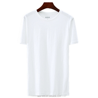 Professional Clothing Manufactures Shortsleeve Blank T Shirt 100% Cotton