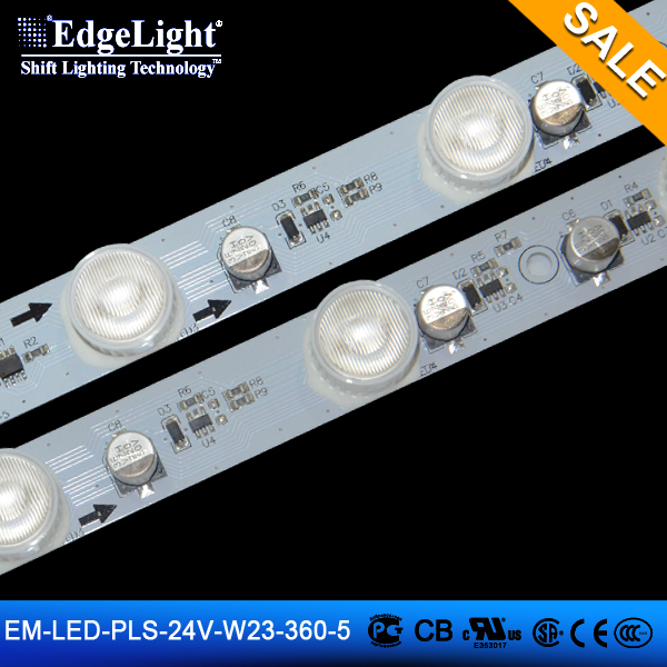 RGB lighting bar 5pcs lamps rigid board led strip lights