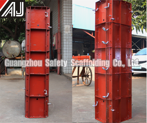 Steel Concrete Forms : Hot sale in africa steel concrete column formwork for