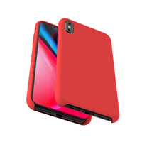 Hot selling product soft liquid silicone mobile phone case for xiaomi A2 original silicone back cover dust-proof accessories