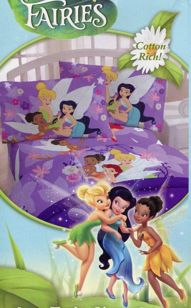 "Disney Fairies Tinkerbell ""Seasons"" 2-pc. Twin Size Sheet Set"