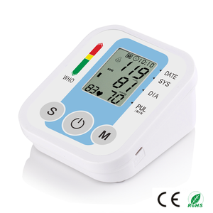 Promotion price Accurate Arm BPM talking accurate upper arm blood pressure monitor usd7.8/pcs Full-Automatic