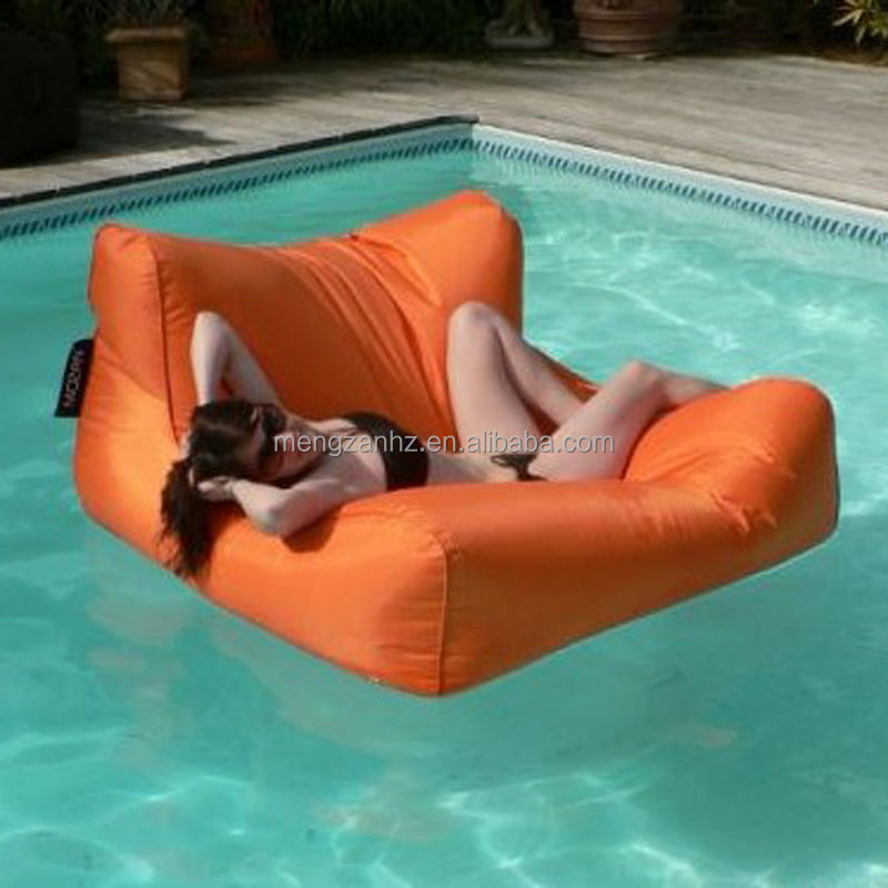 Water Large Nylon Fabraic Sun Lounge Cushion Bean Bag