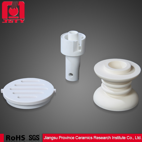 alumina ceramic component mechanical part 99 tube Al2O3 crucible